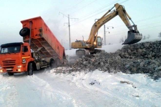 НаБайкало-Амурской магистрали начали строить участок железной дороги Хани— Тында