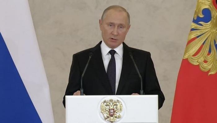 Владимир Путин: в Петербурге был совершен террористический акт