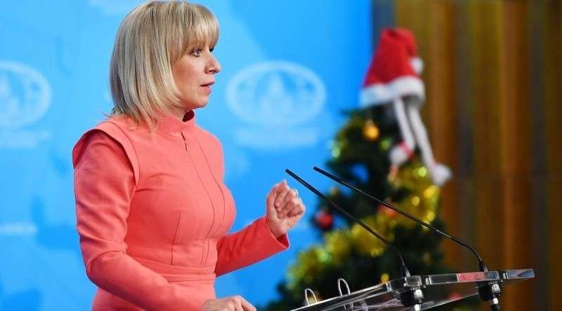 Мария Захарова на итоговом брифинге. Итоги: «Провокации в Сирии и деструктивные шаги США»