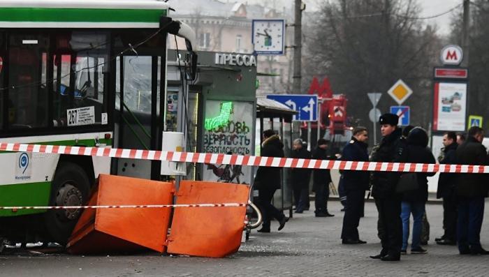 """Теракт у метро """"Сходненская"""": опять сломались тормоза? Опять водитель не азиат?"""