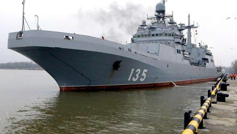 Чем интересен большой десантный корабль ВМФ России «Иван Грен»