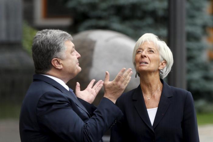 Киевское еврейство совместно с ростовщиками из МВФ ловко закабалили украинцев