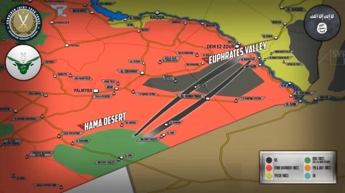 Сирия. США и боевики начали операцию против ИГИЛ в пустыне