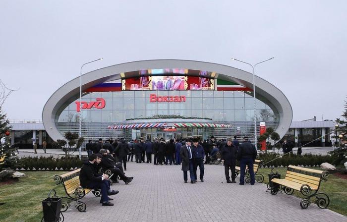 ОАО«РЖД» открыло новый вокзальный комплекс в Гудермесе