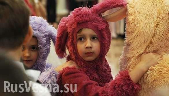 Дети Донбасса: «Хочу куклу и чтобы кончилась война» | Русская весна