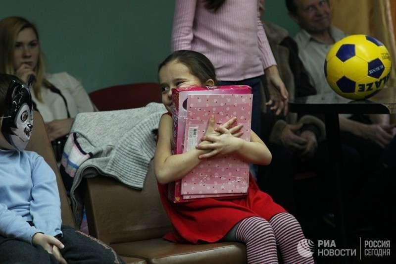 Дети Донбасса: «Хочу куклу и чтобы кончилась война»
