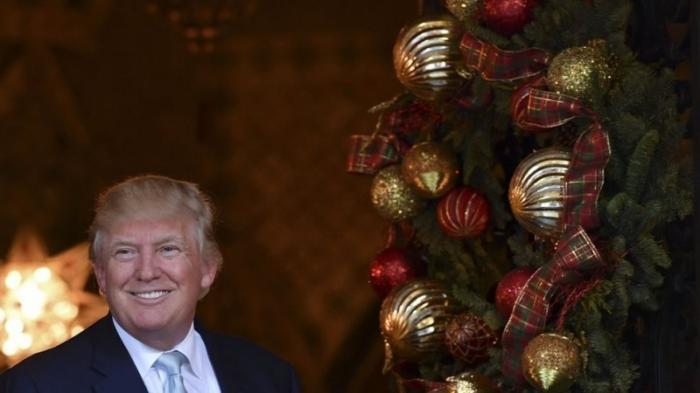 Трамп поздравил с Новым годом своих врагов и «самые лживые СМИ»