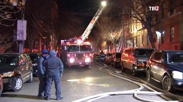 Нью-Йорк. Произошел самый страшный пожар за 25 лет