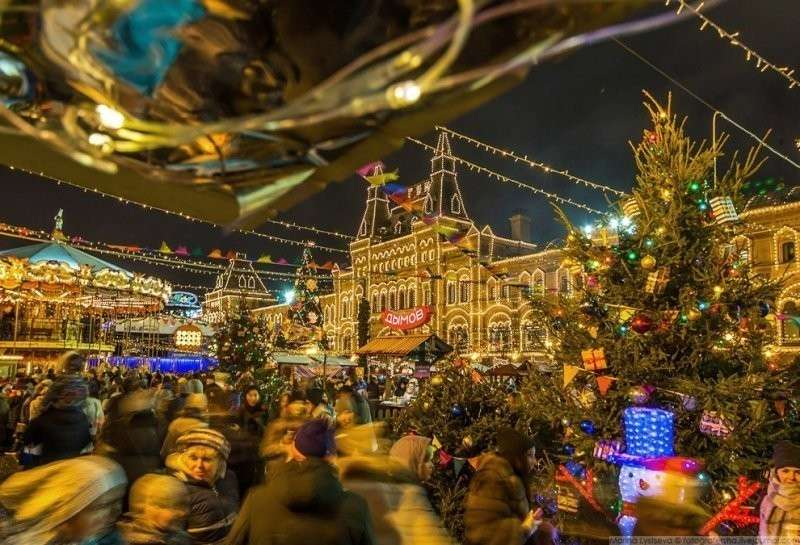 Прогулка по завораживающему сказочному центру новогодней Москвы красиво, красота, москва, новый год, праздник, рождество, столица, фотография