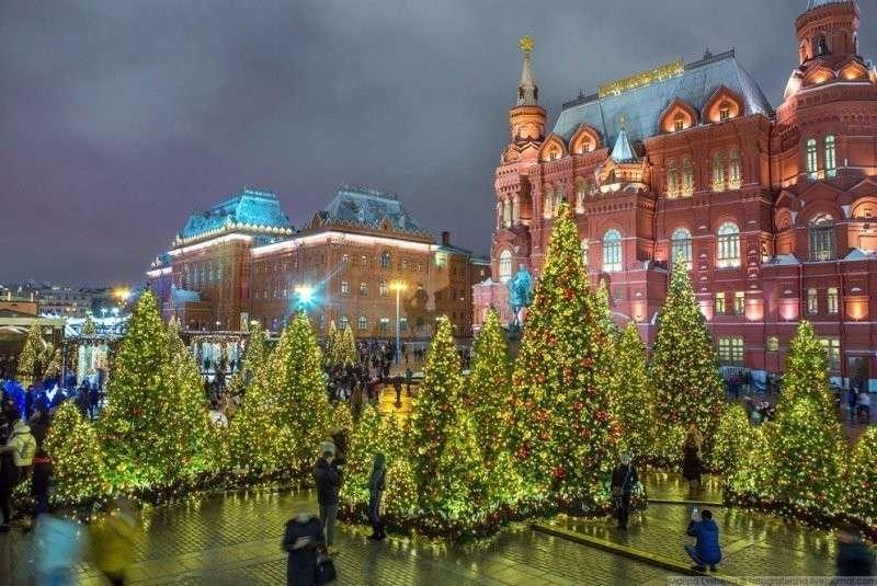 Красота. красиво, красота, москва, новый год, праздник, рождество, столица, фотография