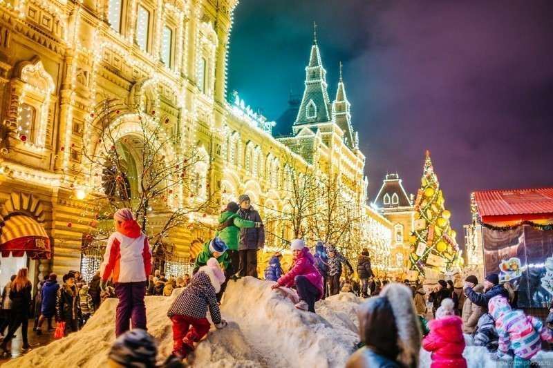 Впечатления эмигранта из Украины от празднования Нового года в России