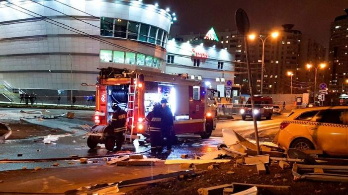 В Москве произошёл взрыв у автозаправочной станции компании «ЛУКОЙЛ»