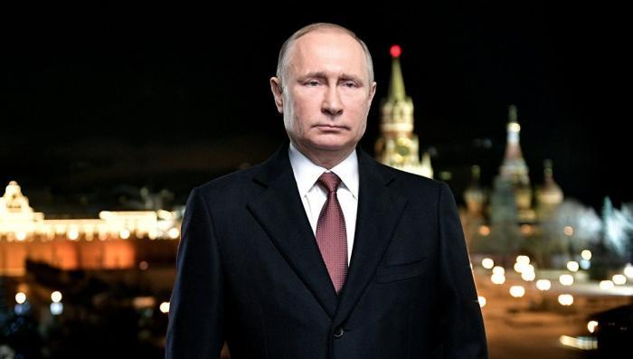 Новогоднее обращение Владимира Путина. Россия начала жить немного по-новому