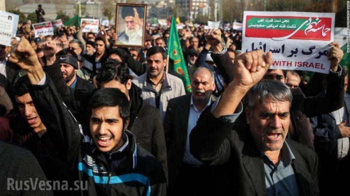 Майдан в Иране. За протестами «торчат уши» Израиля, США, Британии и саудитов