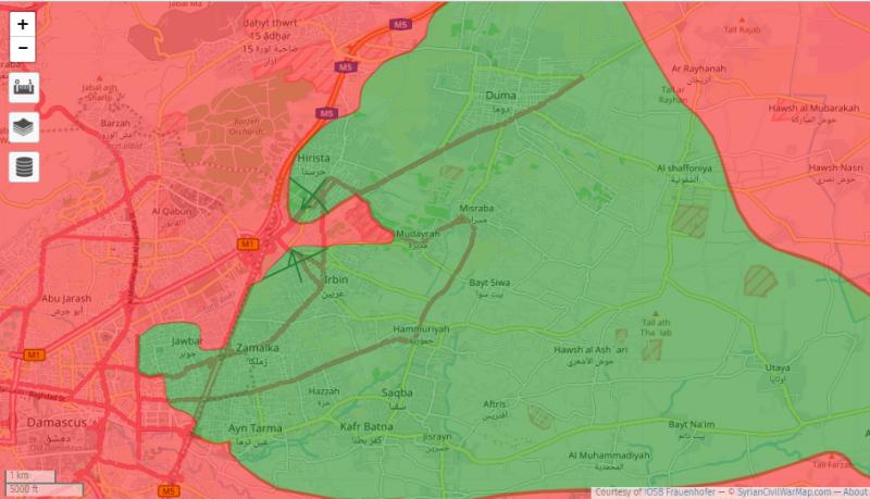 Сирия и Иран: генеральное наступление в Идлибе и акт отчаяния Вашингтона