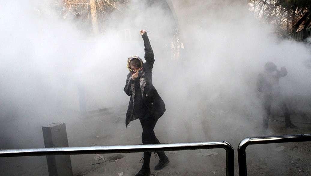 Великая хуцпа пиндостана: США пригрозили Ирану санкциями из-за борьбы с беспорядками