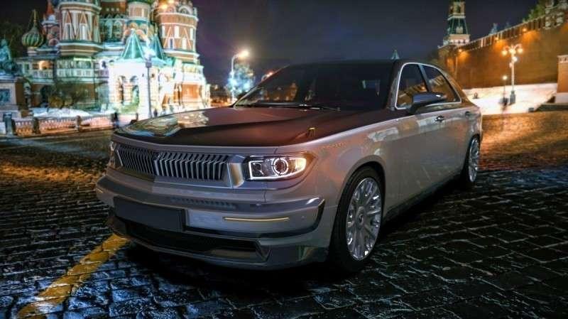 Возрождение «Волги» ГАЗ-24: новый проект российского дизайнера
