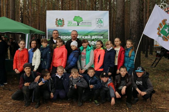 Томск. Около 5,5 млн деревьев было высажено вГод экологии