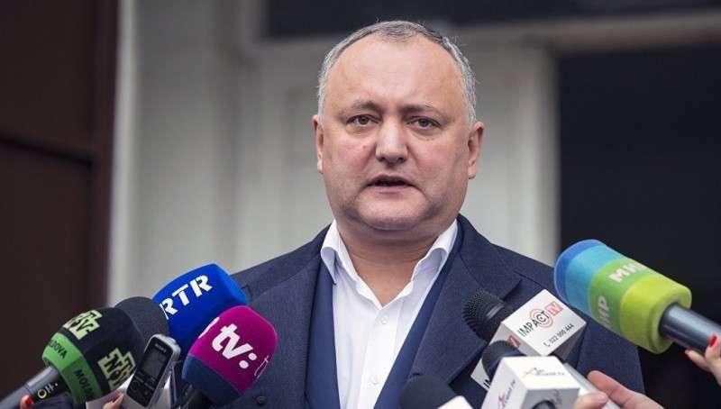Молдавия. Игорь Додон отказался запретить русские новостные программы