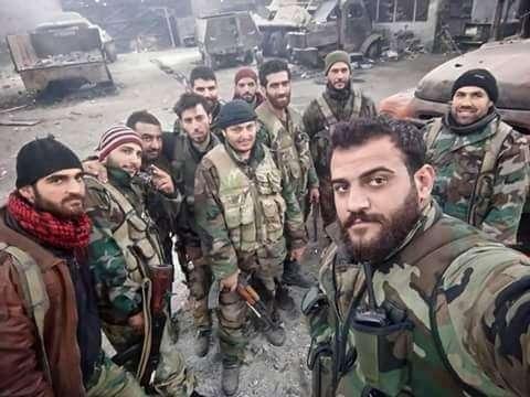 Сирия, Дамаск: окружение базы правительственной армии в Восточной Гуте