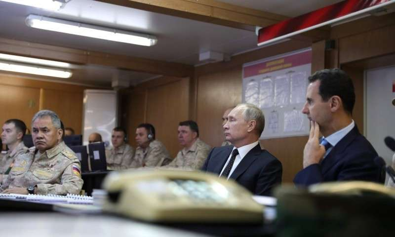 Дезинформация: при обстреле российской базы в Сирии уничтожены семь самолетов