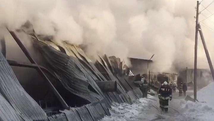 Под Новосибирском при пожаре погибли семеро граждан Китая