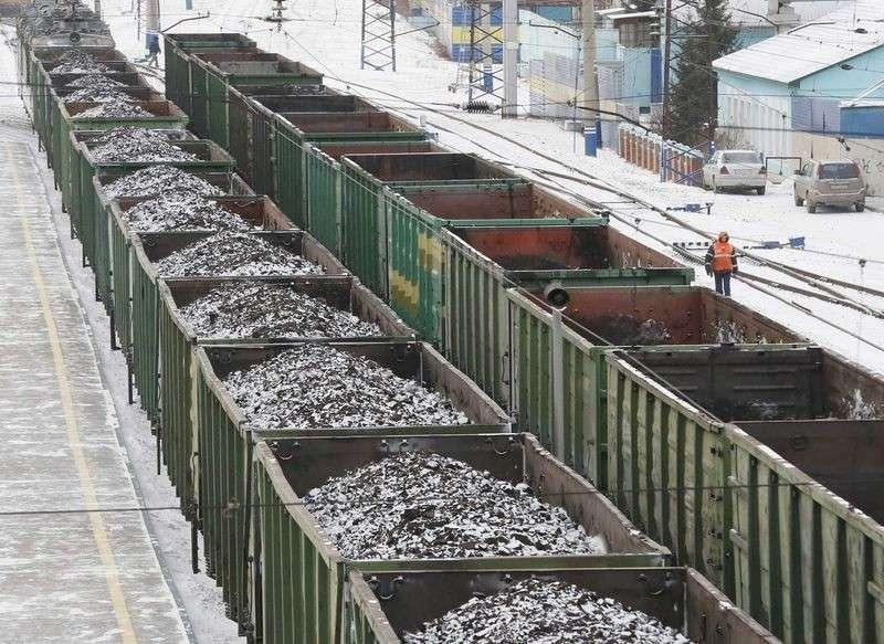 Россия в 2017 году стала лидером по поставкам угля на Украину