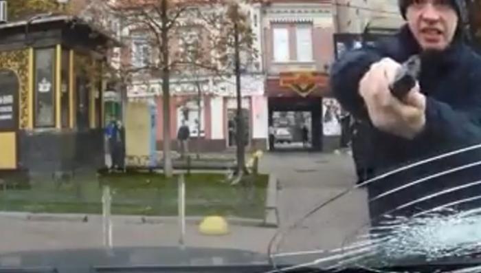Киевская полиция покруче любого бандита отморозка будет