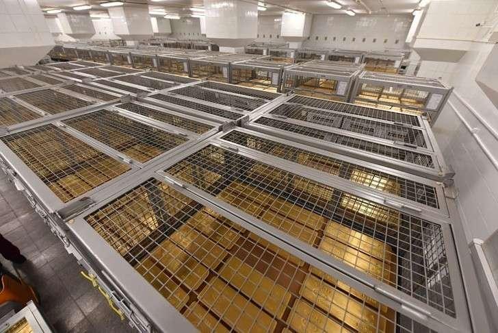 Золотой запас России. Как Центробанк хранит российское золото