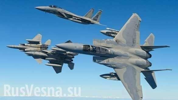 ВВС пиндостана показали «перехваты» русских истребителей Су-30 | Русская весна
