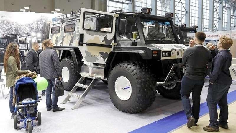 Российская армия получит «арктический УАЗик» – вездеход «Кречет»
