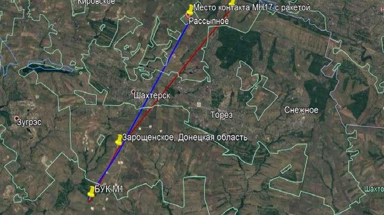 Уральский исследователь нашел следы украинского «Бука», сбившего Boeing МН17 над Донбассом