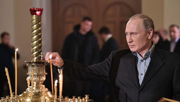 Путин поздравил христиан и всех граждан России, празднующих Рождество Христово
