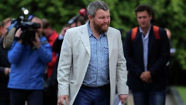 Сопредседатель Временного коалиционного правительства Донецкой народной республики (ДНР) Андрей Пургин