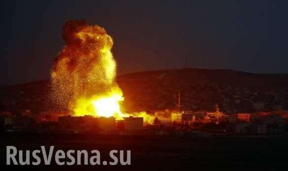 Сирия, Идлиб: уничтожен штаб боевиков с Кавказа, 100 убитых и раненых | Русская весна