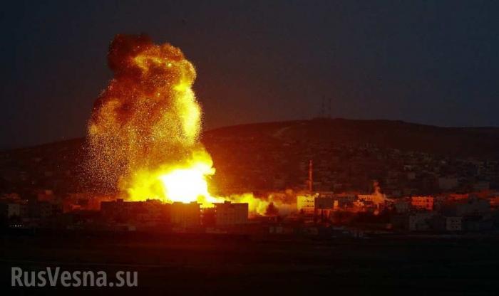 Сирия, Идлиб: уничтожен штаб боевиков с Кавказа, 100 убитых и раненых