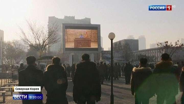 Завление Ким Чен Ына стало главной новогодней сенсацией