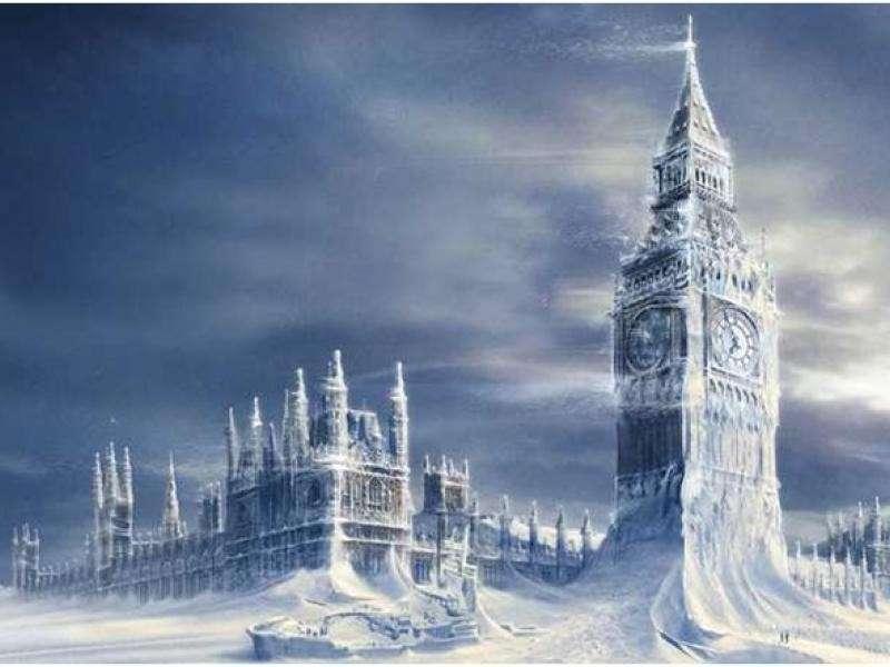 Относительно недавно в России был тёплый климат. Глобальное похолодание XIX века