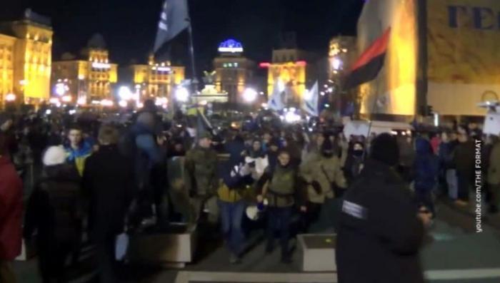 Дикие радикалы напали на Российский центр науки и культуры в Киеве