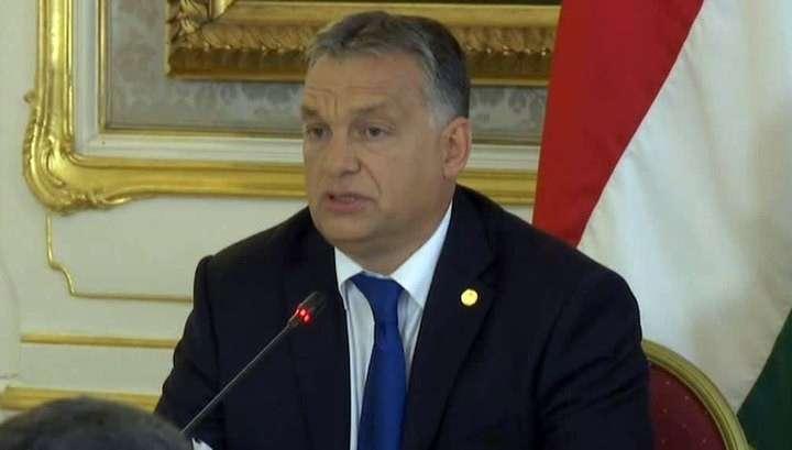 Премьер Венгрии Орбан назвал беженцев