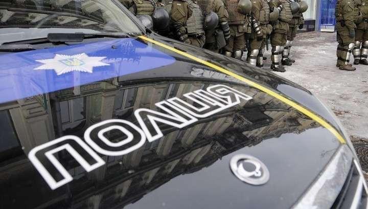 В Киеве одичавшие русофобы напали на здание Россотрудничества