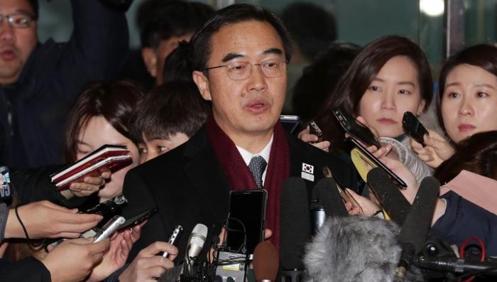 Начались переговоры между КНДР и Южной Кореей в пункте переговоров Пханмунджом