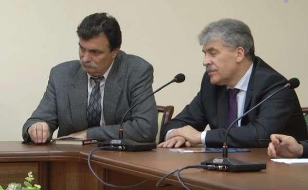 КГрудинин и его команда способны превратить Россию на подобие сегодняшней Украины