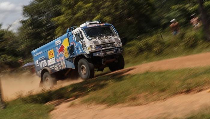 Экипаж команды «Камаз-мастер» лидирует на «Дакаре» после трех этапов