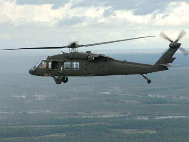 Американские ржавые вертолеты несут угрозу японцам, летая над их территорией