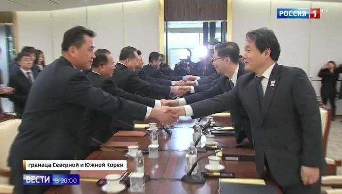 Корейская сенсация: делегации КНДР и Южной Кореи пытаются договориться