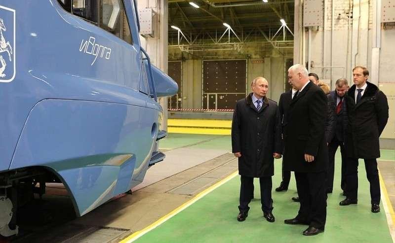 Вовремя посещения Тверского вагоностроительного завода.