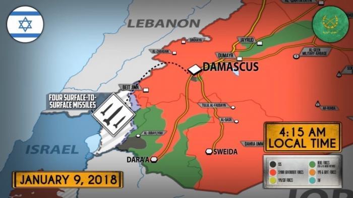 Сирия. Террористический Израиль наращивает обстрелы страны