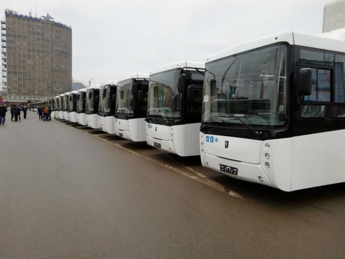 В Ростов-на-Дону прибыли 25 новеньких автобусов из Нефтекамска