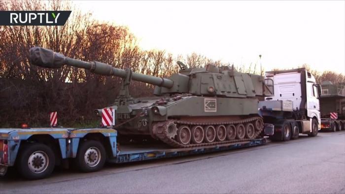 Немыслимое: в Германии задержали конвой с гаубицами «великого пиндостана»
